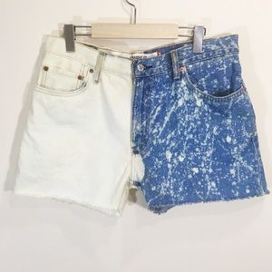 Levis Denim Cutoffs Size 10 Vintage High Waist